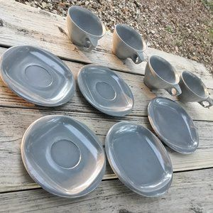Melmac Mugs Melamine Dishes RV Camping Dish Set